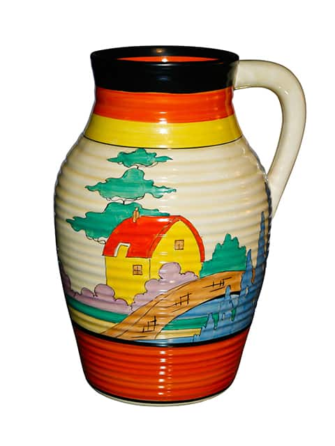 Clarice Cliff Lotus Jug c.1930