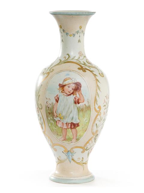 003186 Doulton Lambeth Carrara Ada Dennis c.1880