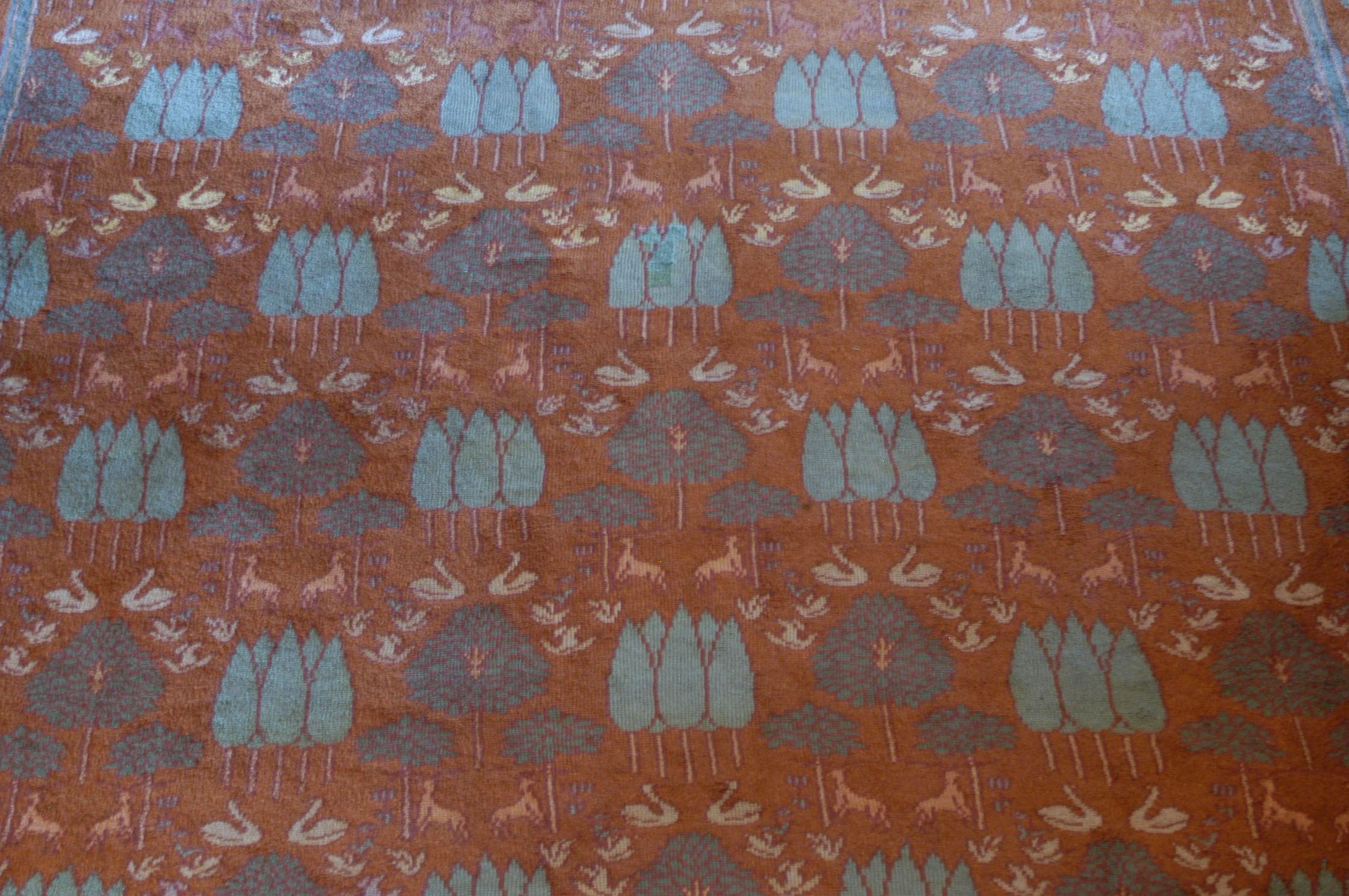 An Irish Donegal carpet attributed to C.F.A. Voysey