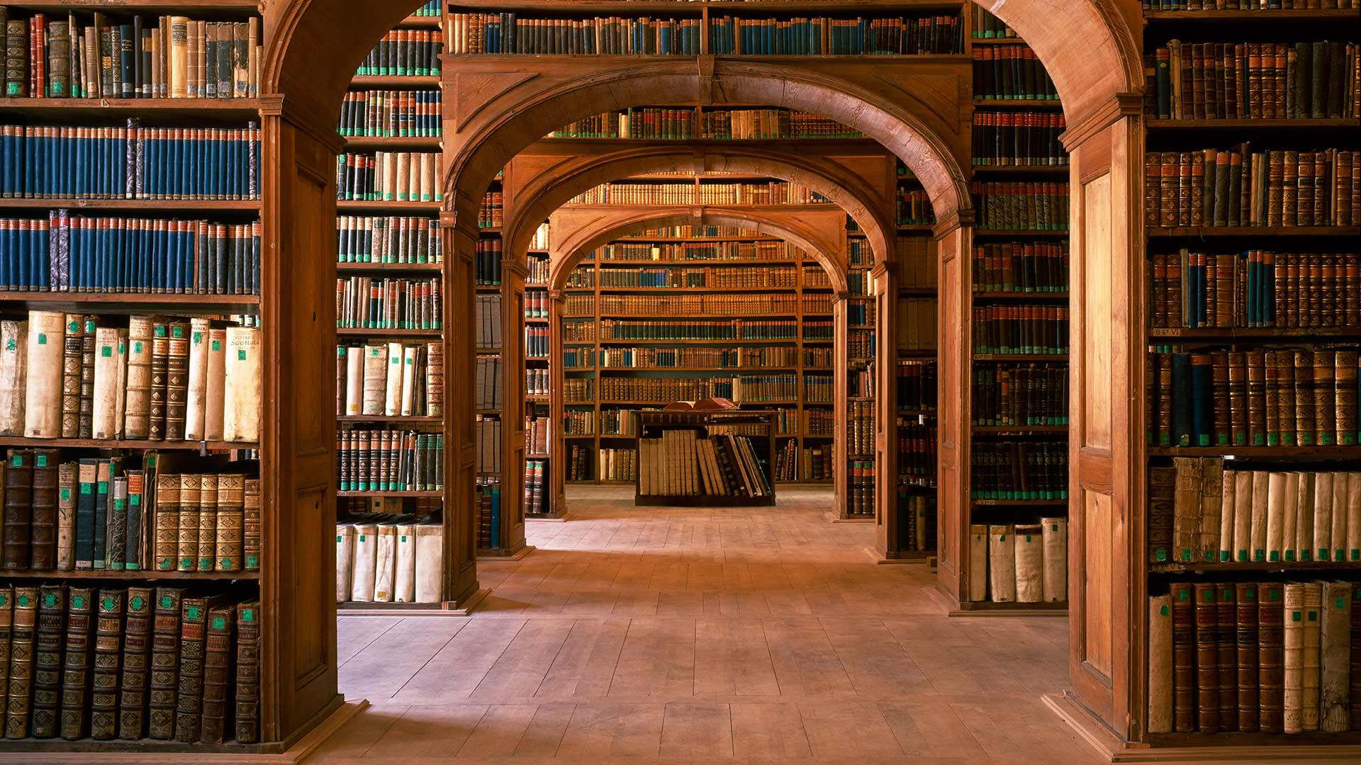 Library Bedales School Uk