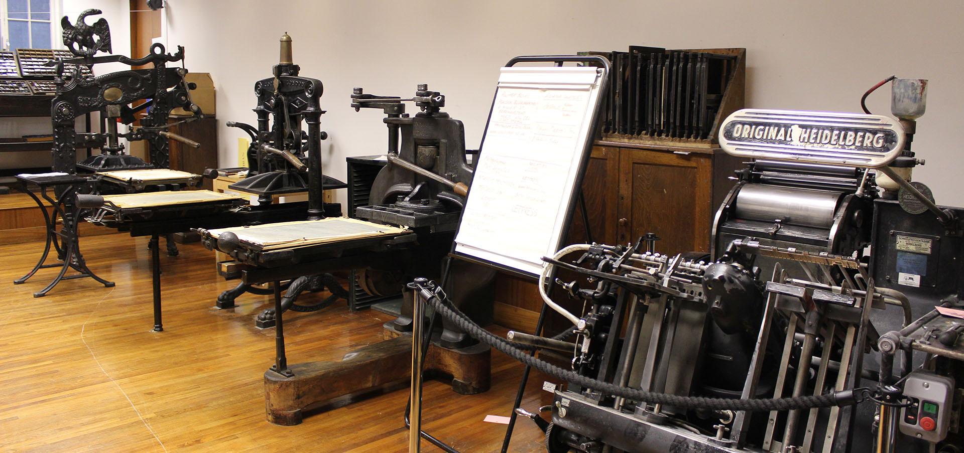 St Bride's Printing Machines