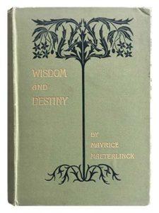 Cover of Wisdom and Destiny by Mavrice Maeterlinck