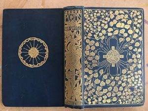 Cover of a book by WB Yeats, in our collection