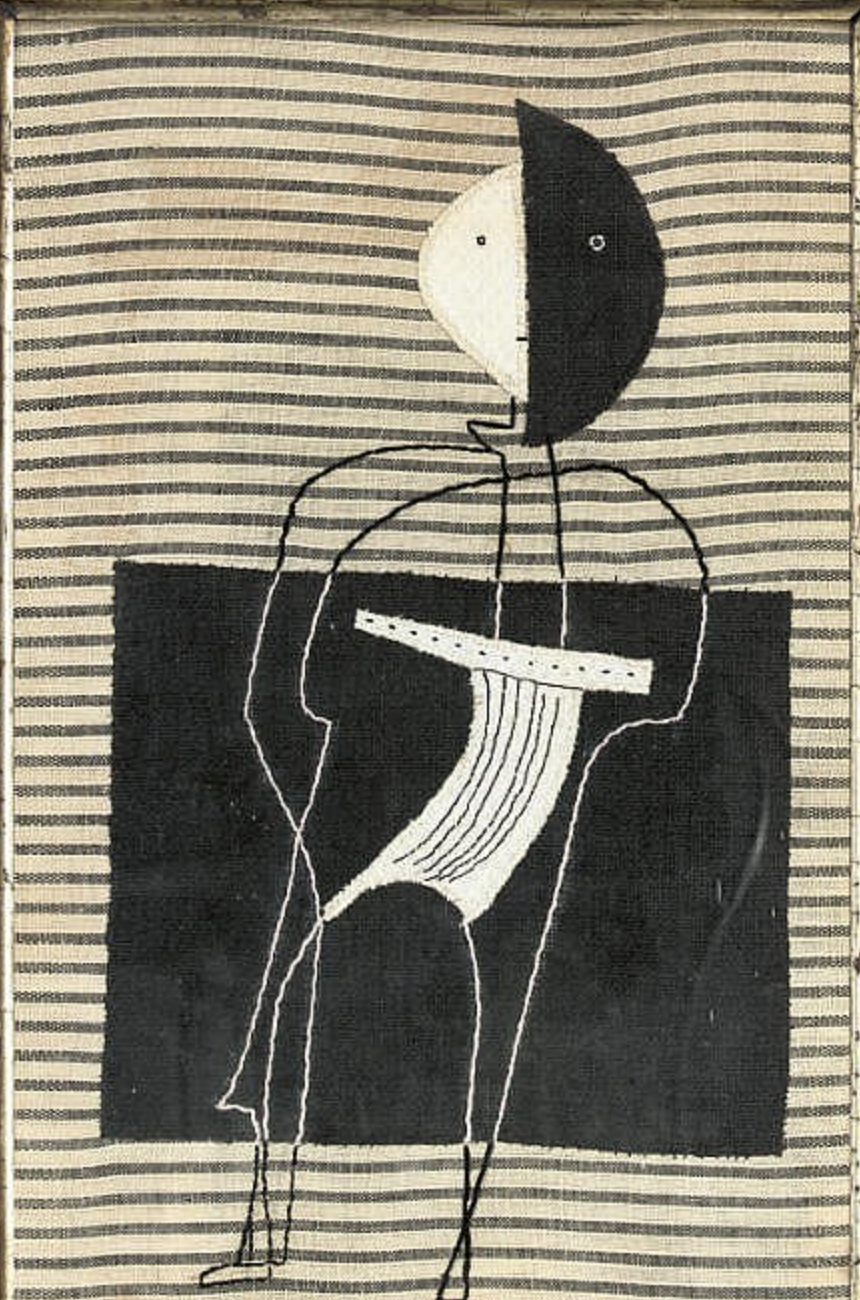 Figure in the Wind, c.1949 Private Collection