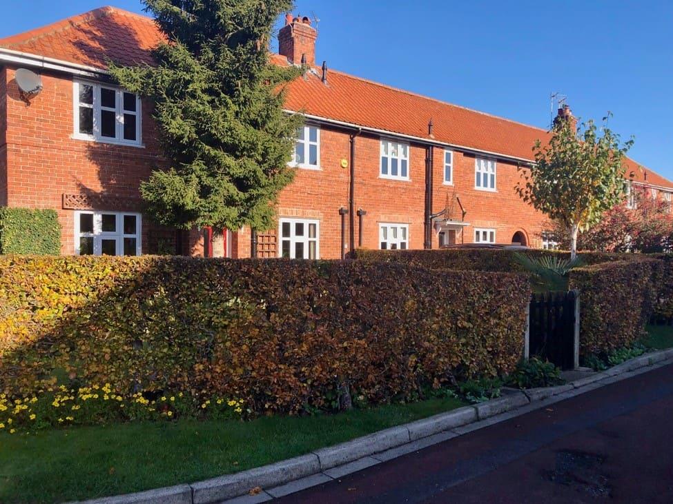 Interwar houses Cherry Tree Avenue, New Earswick