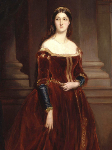 Louisa, Marchioness of Waterford -- Chatelaine of Ford Castle, Northumberland