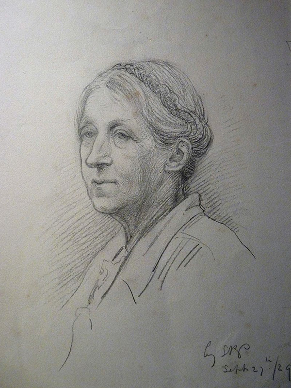 Portrait of Ellen Mary Rope