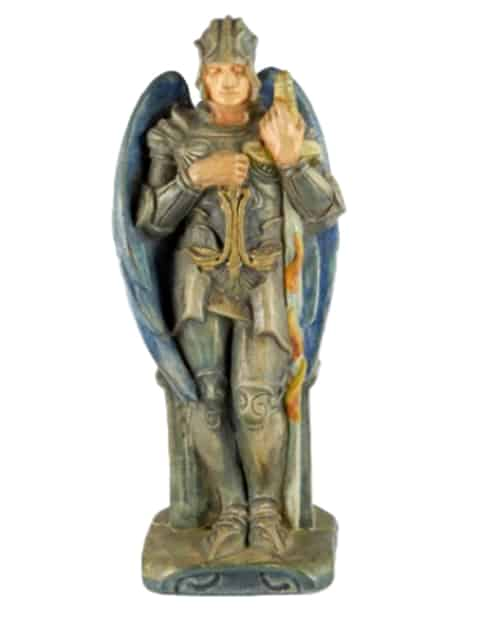 St Michael Statue, Compton Pottery