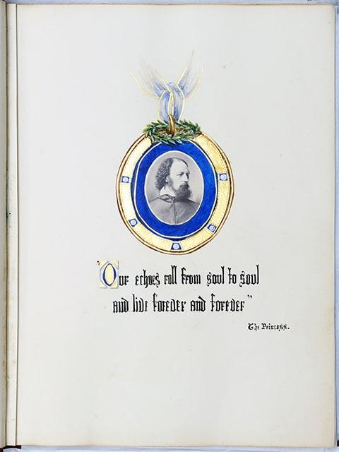 Tennyson from M S Watts photo album