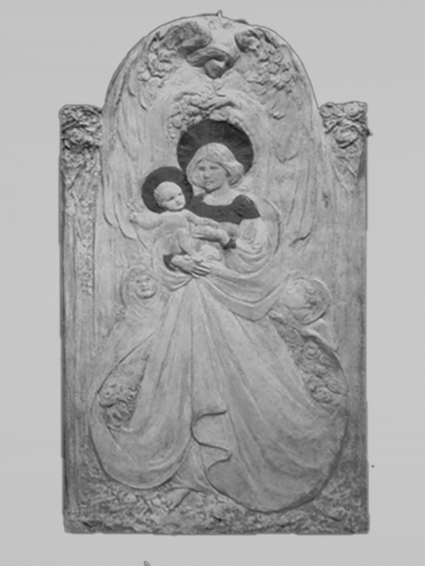 The Madonna Della Rosa by Frances Darlington