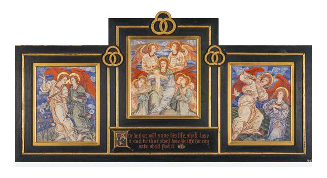 Three Studies for the Decoration of the first Mortuary Chapel - the Royal Hospital for Sick Children Edinburgh - Phoebe Anna Traquair