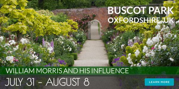 Buscot Park, Oxfordshire, UK - William Morris Tour 2021