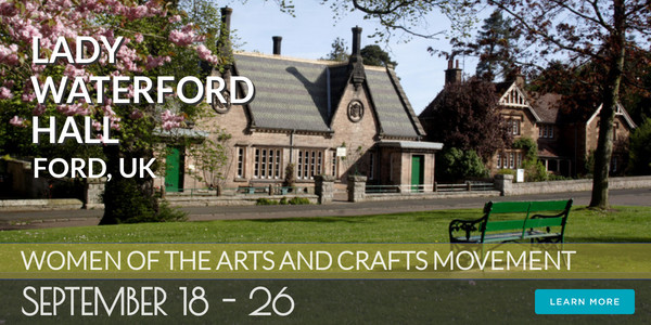 Lady Waterford Hall, Ford, UK - Women of the Arts and Crafts Movement 2021