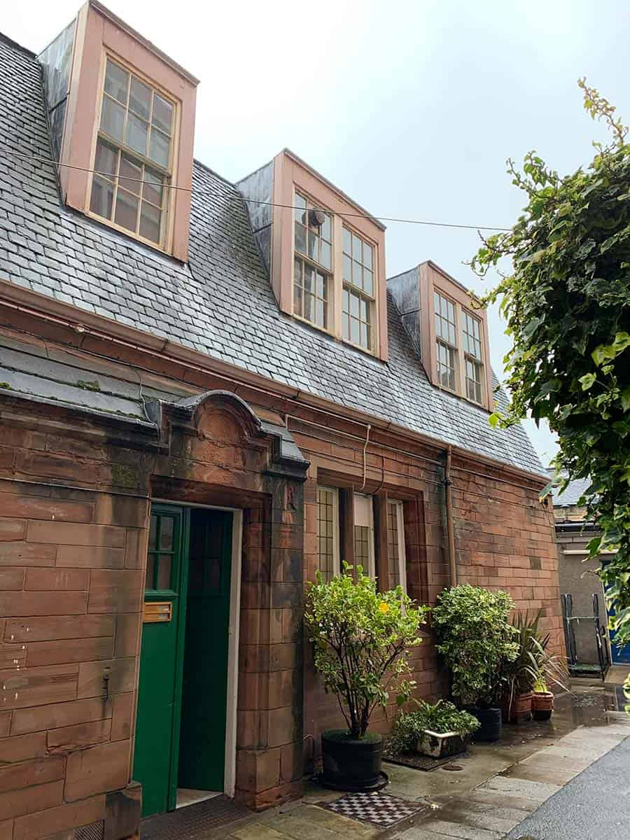 Mortuary Chapel Building at the Royal Edinburgh Hospital for Sick Children. Picture courtesy Historic Churches Scotland.