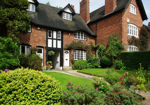 Houses in Bournville Village