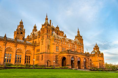 Kelvingrove Museum and Art Gallery in Glasgow - Scotland