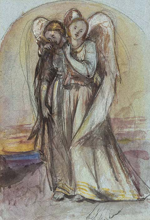 Louisa Anna Beresford - Two Angels Mourning