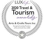 2020 Best Bespoke Arts & Crafts Tour Operator