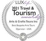 2021 Best Bespoke Arts & Crafts Tour Operator
