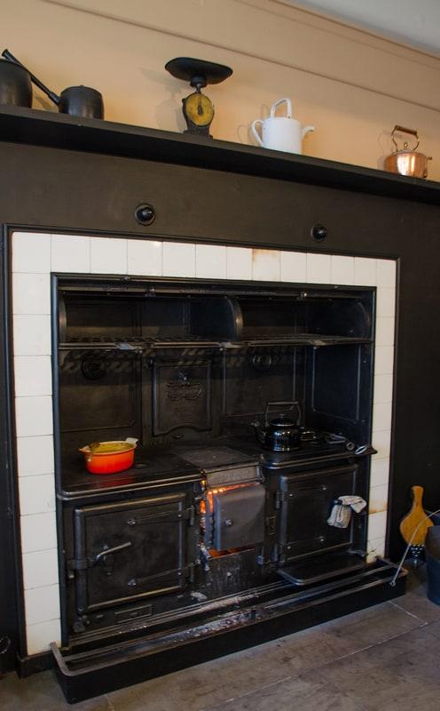Kitchen Range at Standen House