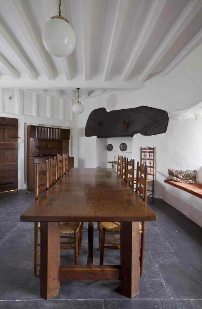 Stoneywell Dining Hall, originally the kitchen