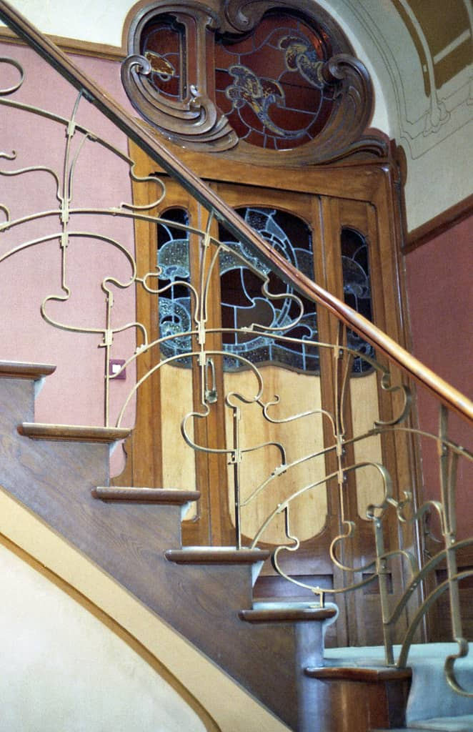 Victor Horta's House & Studio, interior detail